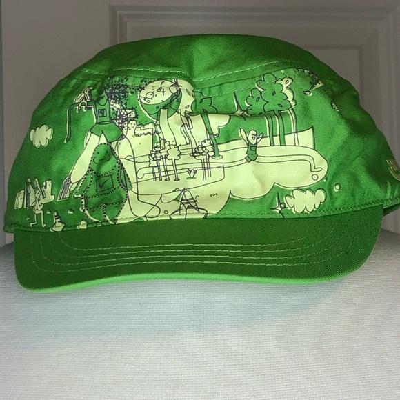 Nike Sample Hat Run Americas Jungle Green 2007